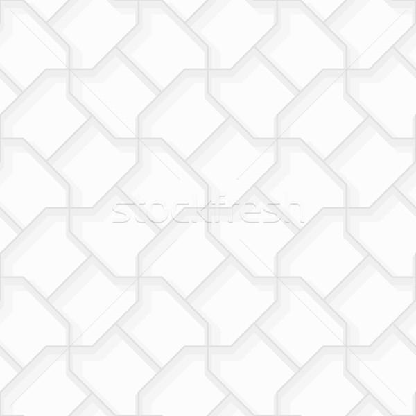 Streszczenie geometryczny wzór bezszwowy wektora szary eps8 Zdjęcia stock © pzaxe