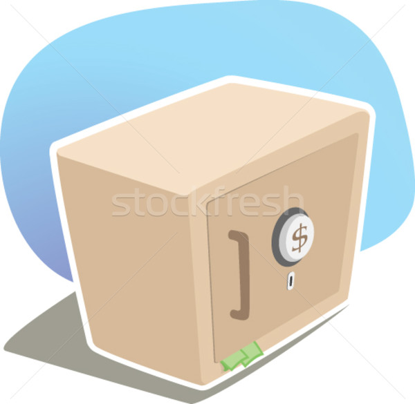 Strong box  Stock photo © qiun
