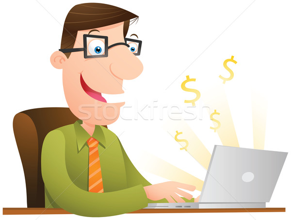 Making Money Stock photo © qiun