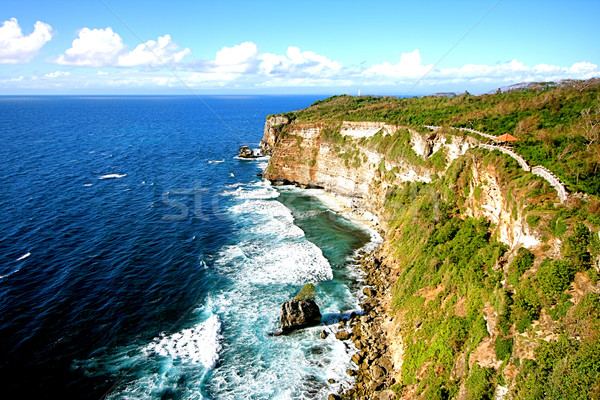 Sea and Cliff Stock photo © qiun
