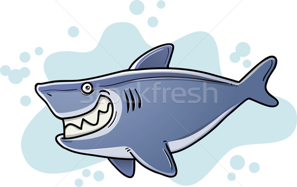 Fat Shark Stock photo © qiun