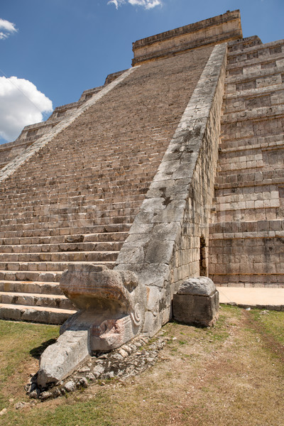 Mayan temple stairs Stock photo © Quasarphoto