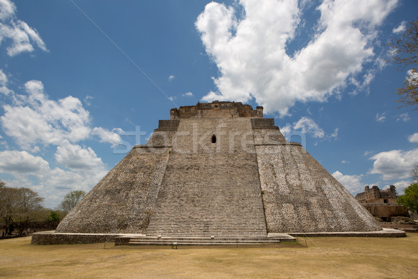 front view of a Mayan pyramid Stock photo © Quasarphoto