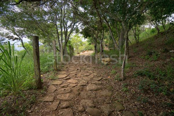 Gerçek Kolombiya yol Stok fotoğraf © Quasarphoto