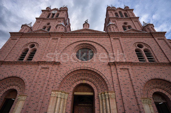 Buga, Colombia, the Basilica of The Lord of the Miracles Stock photo © Quasarphoto