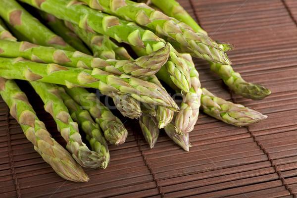 спаржа продовольствие растительное диета Сток-фото © Quasarphoto