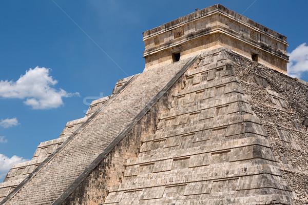 Merdiven üst piramit seyahat Stok fotoğraf © Quasarphoto