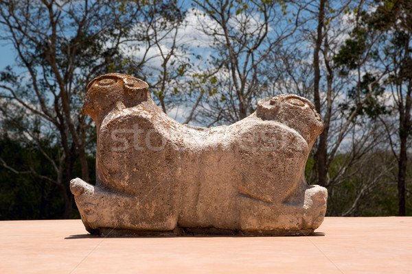 ancient Mayan sculpture Stock photo © Quasarphoto