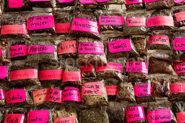 naturopath herbs Stock photo © Quasarphoto