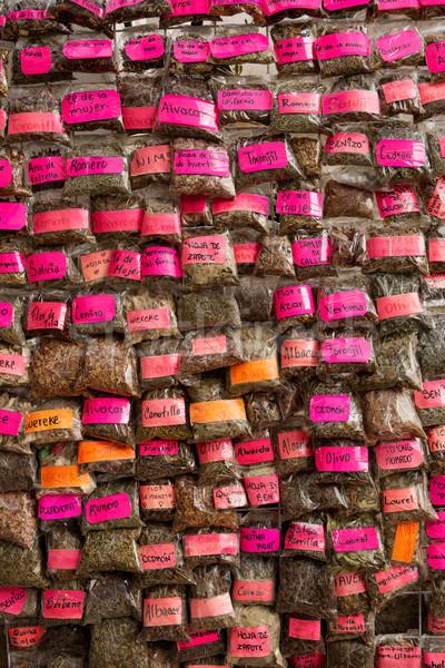 Mexican street naturopath  vendor Stock photo © Quasarphoto