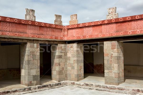 Dettaglio architettonico antica architettonico dettagli colore storia Foto d'archivio © Quasarphoto