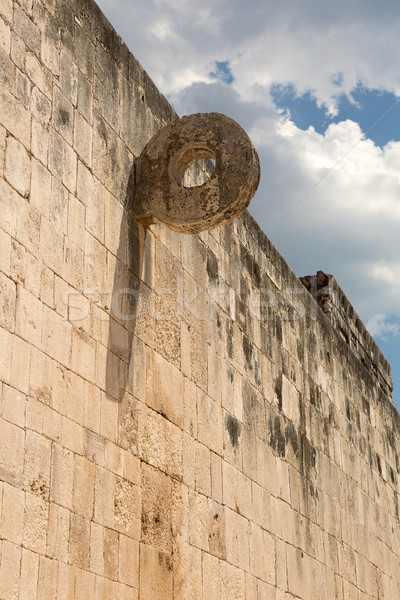 リング 石の壁 石 文化 構造 博物館 ストックフォト © Quasarphoto