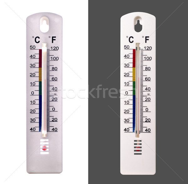 Thermometer Atmospheric White Stock photo © Quka
