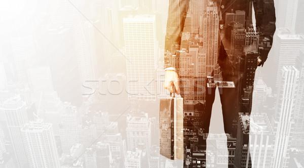 事業者 色 市 ビジネスマン テクスチャ ストックフォト © ra2studio