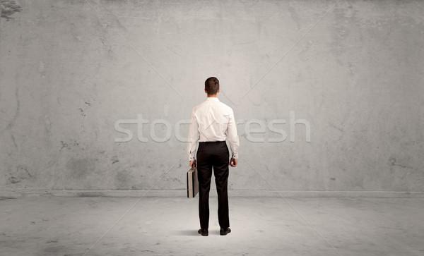 ビジネスマン 失わ 空っぽ 都市 スペース 混乱 ストックフォト © ra2studio