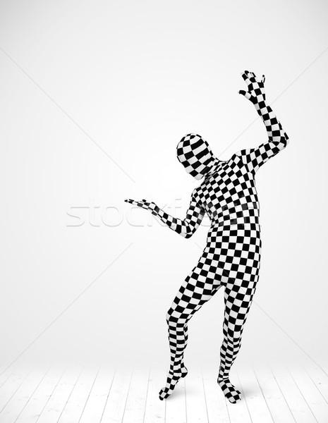 Anonymous man presenting your product Stock photo © ra2studio