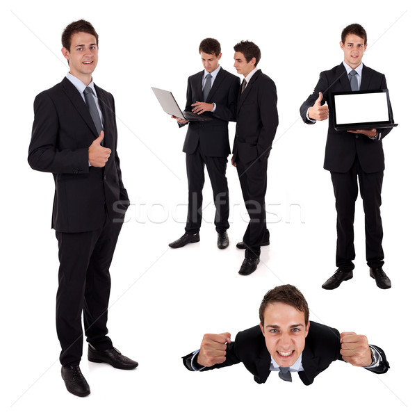 Collection of bussiness people Stock photo © ra2studio