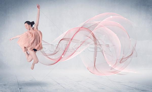 ダンス バレエ パフォーマンス アーティスト 抽象的な 渦 ストックフォト © ra2studio