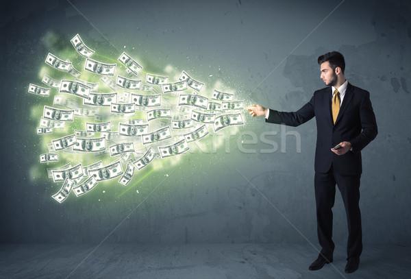 事業者 ビジネス お金 抽象的な ストックフォト © ra2studio