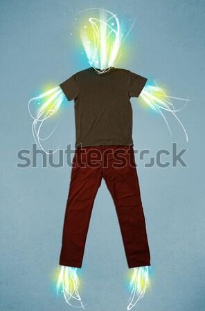 Energia viga casual roupa luz negócio Foto stock © ra2studio