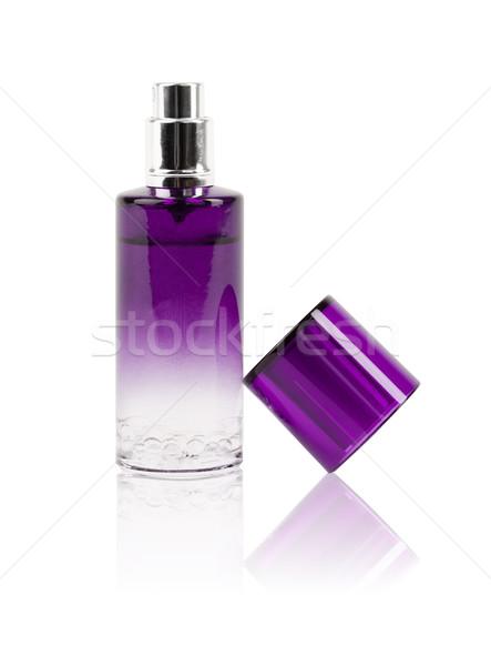 Profumo bella bottiglia isolato regalo femminile Foto d'archivio © ra2studio
