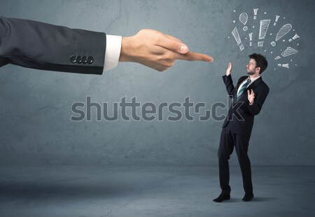 Ruthless business handshake Stock photo © ra2studio