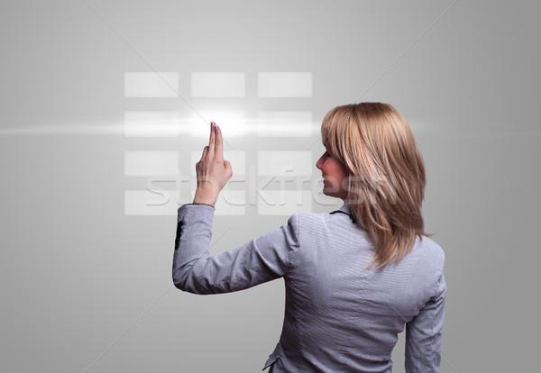 手 デジタル ボタン 女性 キーボード ストックフォト © ra2studio