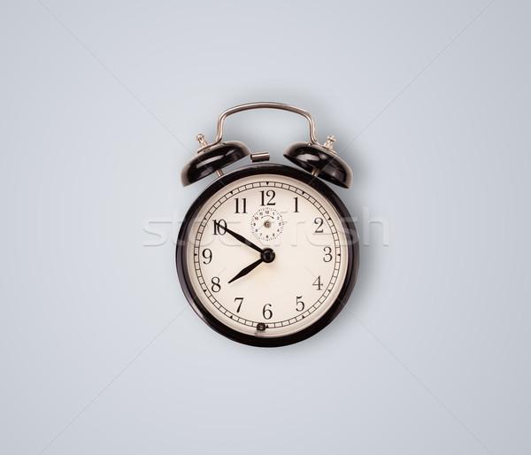 Nowoczesne zegar protokół precyzyjny czasu Zdjęcia stock © ra2studio