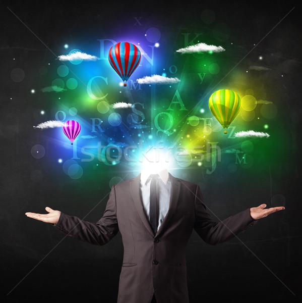 男 スーツ 夢のような ビジネス ストックフォト © ra2studio