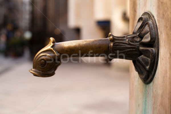 Old faucet Stock photo © ra2studio