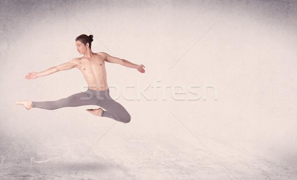 現代 バレエダンサー 芸術 ジャンプ 空っぽ ストックフォト © ra2studio