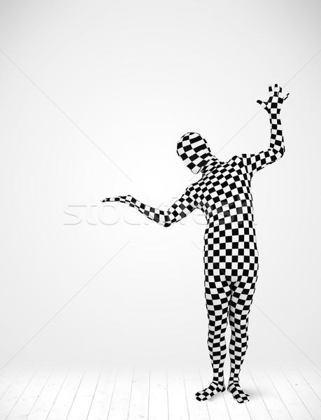 Anonyme homme produit costume Photo stock © ra2studio