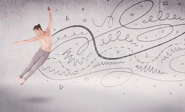 バレエダンサー 芸術 ダンス 行 ストックフォト © ra2studio