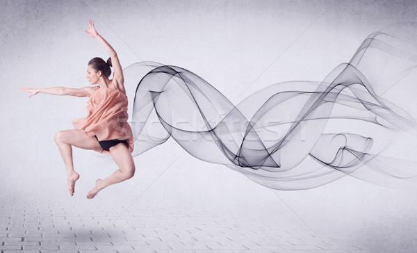 現代 バレエダンサー 抽象的な 渦 ファッション ストックフォト © ra2studio