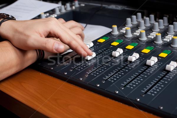 mixing desk Stock photo © ra2studio