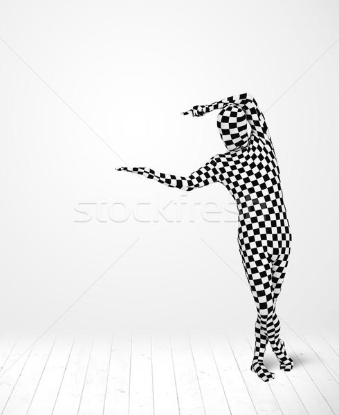 匿名の 男 製品 スーツ ストックフォト © ra2studio