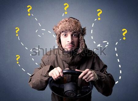 Młoda kobieta fryzura znaki włosy tle Zdjęcia stock © ra2studio