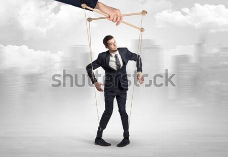 человека самоубийства молодые костюм исполнительного Финансы Сток-фото © ra2studio