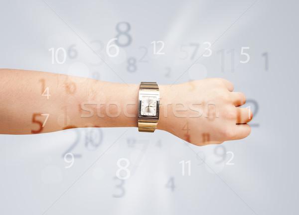 Сток-фото: стороны · Смотреть · номера · сторона · из · бизнеса