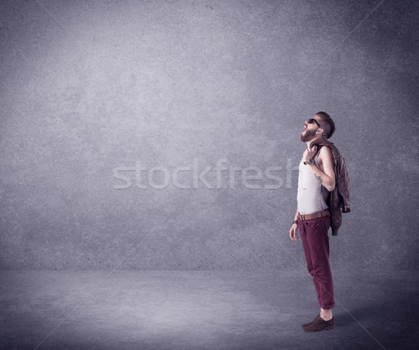 Mode model vent Stockfoto © ra2studio