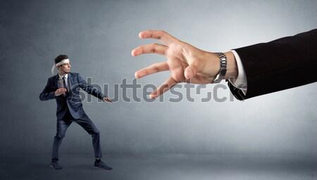 Affaires imaginaire bouton jeunes affaires Photo stock © ra2studio