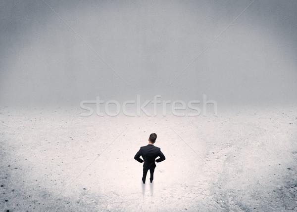 Işadamı ayakta kentsel yetişkin zarif Stok fotoğraf © ra2studio
