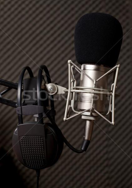 Radio studio Stock photo © ra2studio