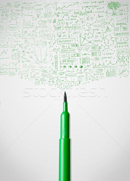 пер школы карандашом Сток-фото © ra2studio