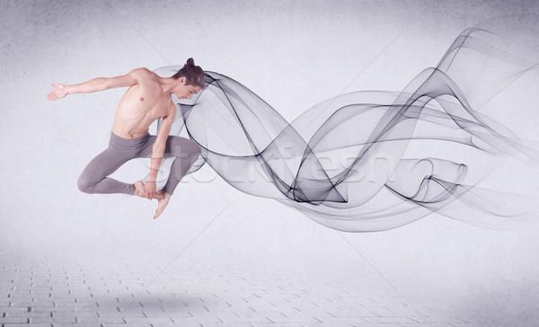 現代 バレエダンサー 抽象的な 渦 男 ストックフォト © ra2studio