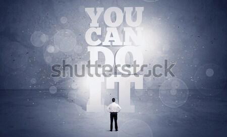 продавцом можете мотивация Постоянный назад Сток-фото © ra2studio