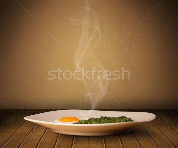 свежие домой приготовленный продовольствие пар Сток-фото © ra2studio