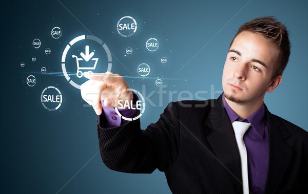 ビジネスマン プロモーション 送料 タイプ 現代 ストックフォト © ra2studio