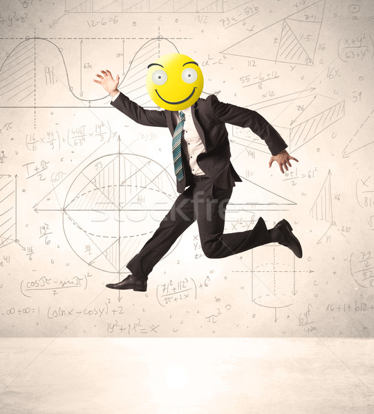 businessman with smiley face Stock photo © ra2studio