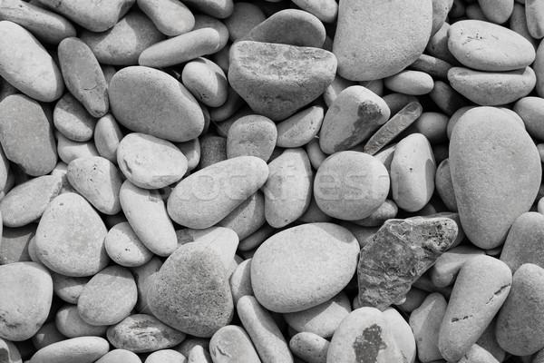 Decoratief vloer textuur grind stenen bouw Stockfoto © ra2studio